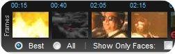 VideoSurf timeline