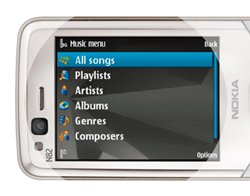 Nokia N82 Music Player