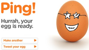 Hurray, your egg is ready.