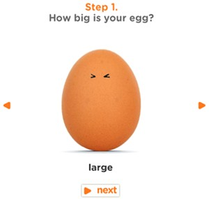 How big is your egg?