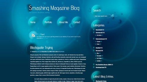 Screenshot: Atlantic WordPress Theme