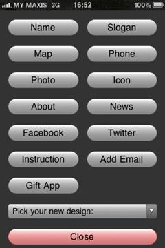 Edit buttons