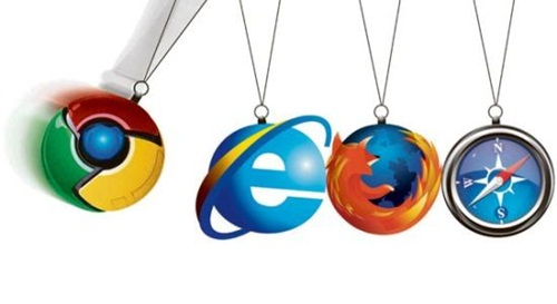 Chrome, Internet Explorer, Firefox, Safari