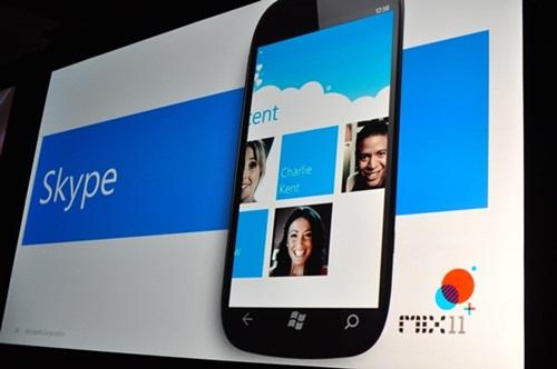 Skype on Windows Phone 7