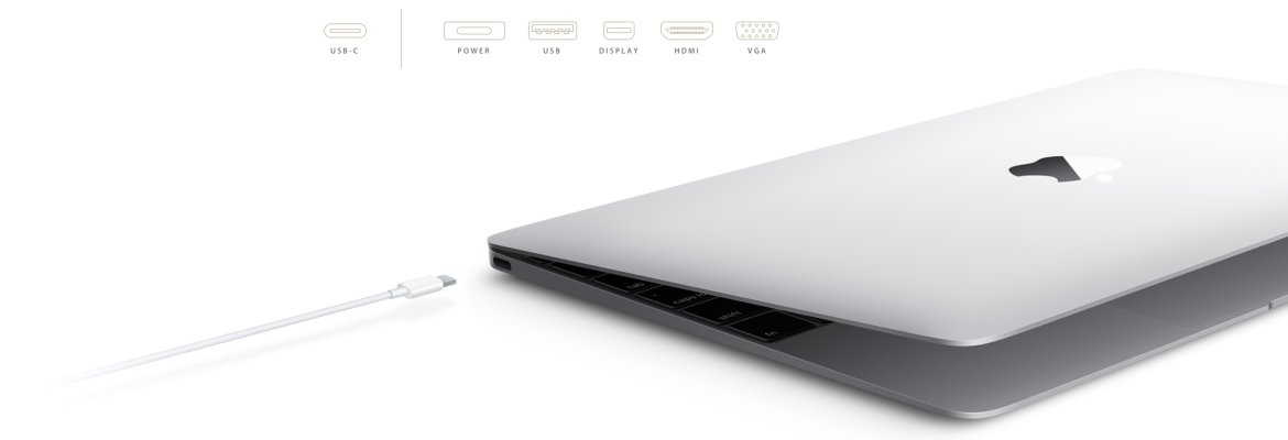 MacBook USB-C port